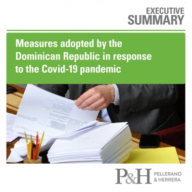 Measures adopted by the Dominican Republic in response to the Covid-19 pandemic