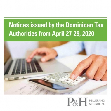 Notices issued by the Dominican Tax Authorities