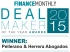 Finance Monthly Deal Maker of the Year Awards 2015 2015