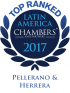 "Top Ranked ""Leading Firm"" by Chambers Latin America Guide 2017 2017"
