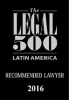 Partner Vitelio Mejia Ortiz was recommended by Legal 500 in Dispute resolution