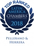 "Top Ranked ""Leading Firm"" by Chambers Latin America Guide 2018 2018"
