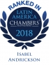 Senior Associate Isabel Andrickson ranked in Chambers Latin America
