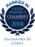 Senior Associate Alessandra Di Carlo ranked in Chambers Latin America