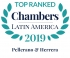 "Top Ranked ""Leading Firm"" by Chambers Latin America Guide 2019 2019"