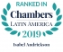 Special Counsel Isabel Andrickson ranked in Chambers Latin America 2019