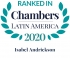 Lawyer Isabel Andrickson ranked in Chambers Latin America 2020