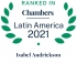 Special counsel Isabel Andrickson ranked by Chambers Latin America 2021