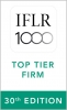 2020 Top Tier Firm by IFLR 1000 2020