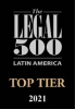 Firma Top Tier por Legal 500 Latin America 2021 2020