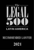 Counsel Isabel Andrickson recommended by Legal 500 Latin America 2021