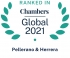 Ranked by Chambers Global 2021 2021