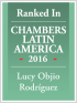 Partner Lucy Objio ranked in Chambers Latin America 2016